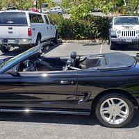 98 Mustang GT Triple Black Convertible One Owner