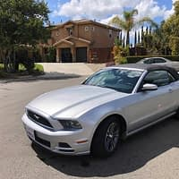 2014 Mustang Convertible; Original Owner 65,000 miles, Pristine Condition and Leather Interior